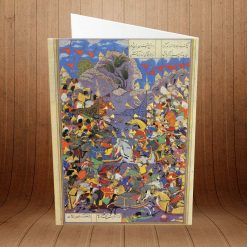 کارت پستال داستانهای شاهنامه کد 2217