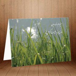 کارت پستال ویژه روز طبیعت کد 3105