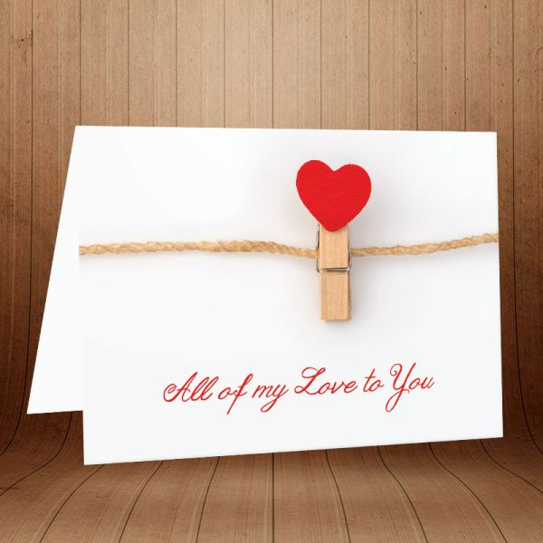 کارت پستال عاشقانه کد 3591