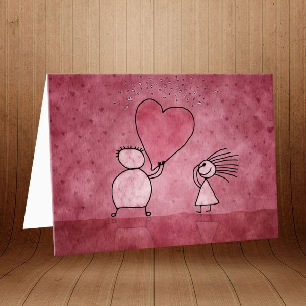انواع کارت پستال عاشقانه کد 3597