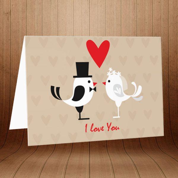 انواع کارت پستال عاشقانه کد 3598