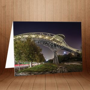 کارت پستال پل طبیعت کد 3956