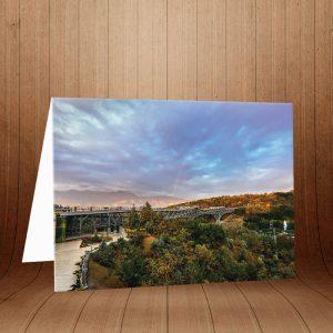 کارت پستال پل طبیعت کد 3958