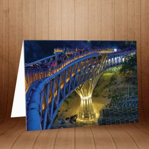 کارت پستال پل طبیعت کد 3969