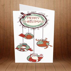 کارت پستال کریسمس کد 3970