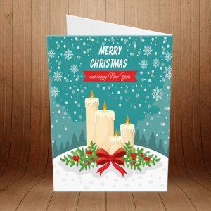 کارت پستال کریسمس کد 3972