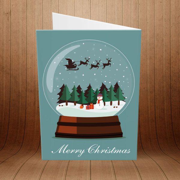 کارت پستال کریسمس کد 3973