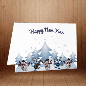 کارت پستال کریسمس کد 3975