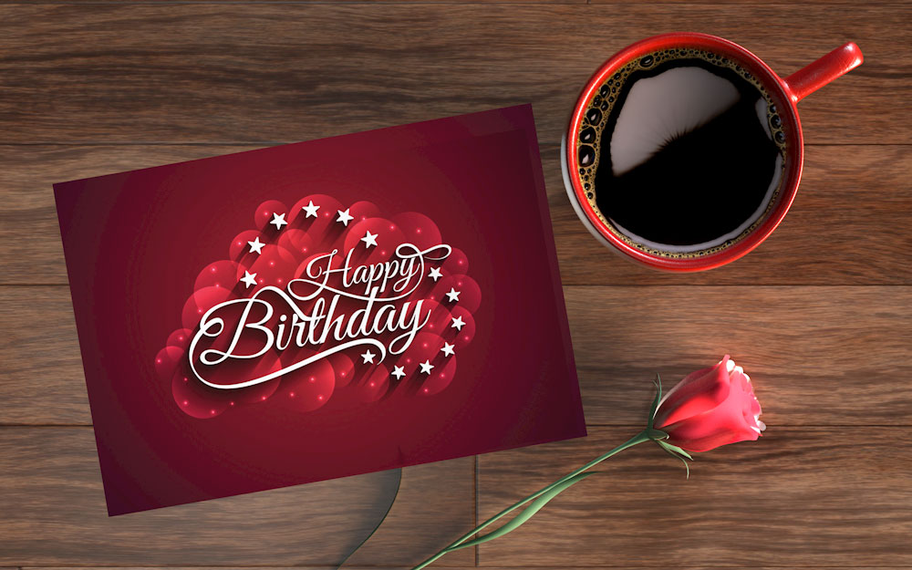 کارت پستال تبریک تولد زسمی