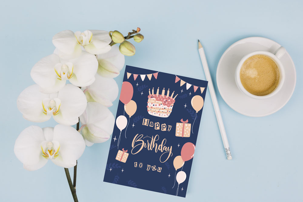 مدل کارت تبریک تولد کودک