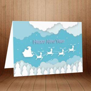 خرید کارت پستال کریسمس