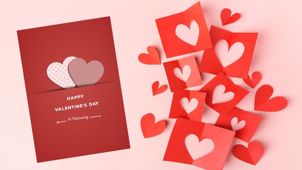چگونه به کمک کارت پستال روز ولنتاین کسب و کار و برند تجاری خود را تبلیغ کنیم؟