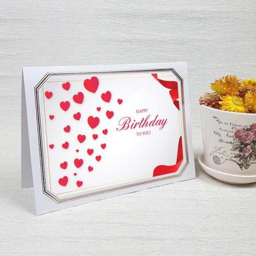 کارت پستال تبریک تولد کد 4324 لوکس