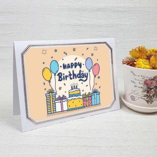 کارت پستال تبریک تولد کد 4452 لوکس