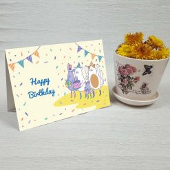 کارت پستال تبریک تولد کد 4454 کلاسیک
