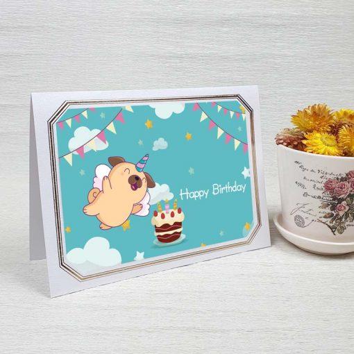 کارت پستال تبریک تولد کد 4457 لوکس