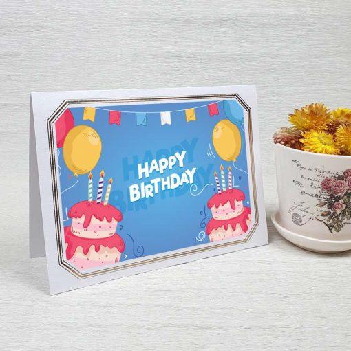 کارت پستال تبریک تولد کد 4459 لوکس