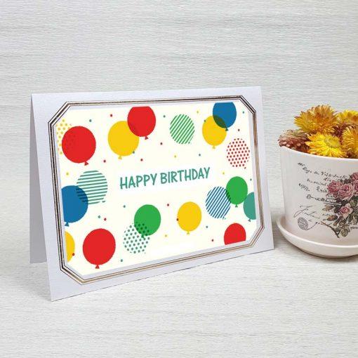 کارت پستال تبریک تولد کد 4467 لوکس