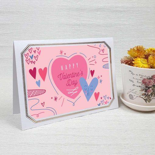 کارت پستال عاشقانه کد 4475 لوکس