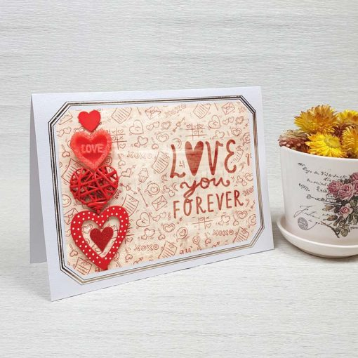 کارت پستال عاشقانه کد 4476 لوکس