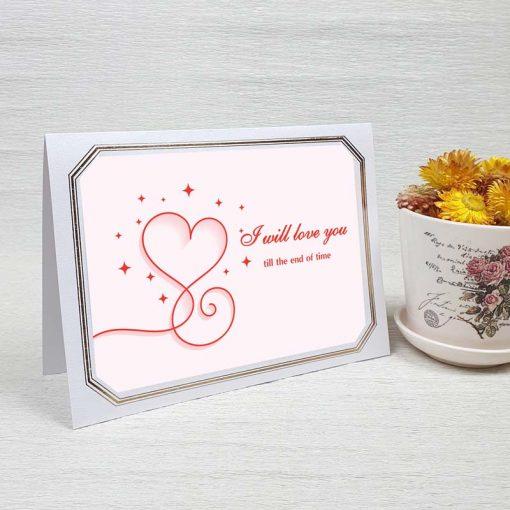 کارت پستال عاشقانه کد 4477 لوکس