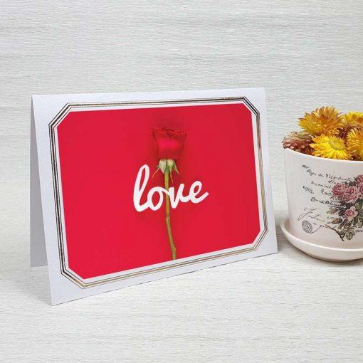کارت پستال عاشقانه کد 4478 لوکس