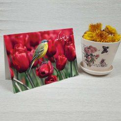 کارت پستال عید نوروز کد 2134 کلاسیک