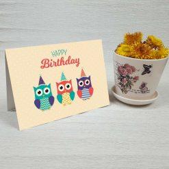 کارت پستال تبریک تولد کد 3324 کلاسیک