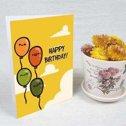 کارت پستال تبریک تولد کد 3330 کلاسیک