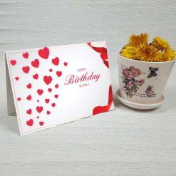 کارت پستال تبریک تولد کد 4324 کلاسیک