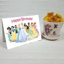 کارت پستال تبریک تولد کد 4326 کلاسیک