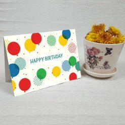 کارت پستال تبریک تولد کد 4467 کلاسیک