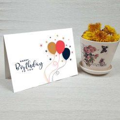 کارت پستال تبریک تولد کد 4469 کلاسیک