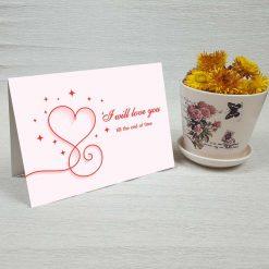 کارت پستال عاشقانه کد 4477 کلاسیک
