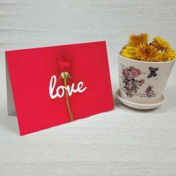کارت پستال عاشقانه کد 4478 کلاسیک