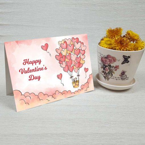 کارت پستال عاشقانه کد 4480 کلاسیک