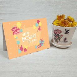 کارت پستال تبریک تولد کد 4468 کلاسیک