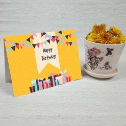 کارت پستال تبریک تولد کد 3332 کلاسیک