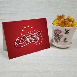 کارت پستال تبریک تولد کد 3329 کلاسیک