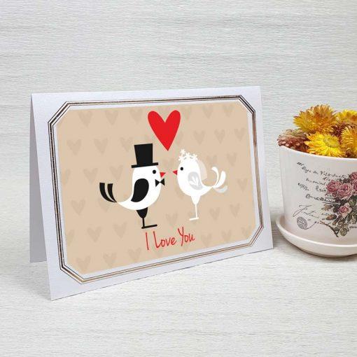 کارت پستال عاشقانه کد 3598 لوکس