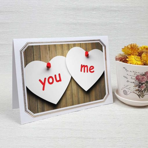 کارت پستال عاشقانه کد 3599 لوکس