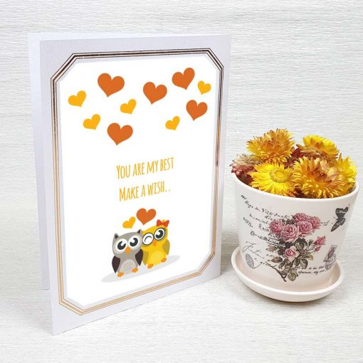 کارت پستال عاشقانه کد 4449 لوکس