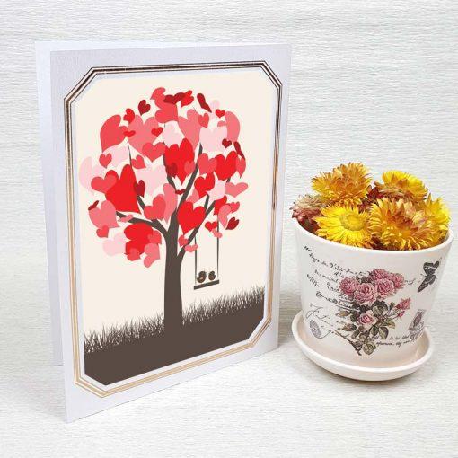 کارت پستال عاشقانه کد 3588 لوکس