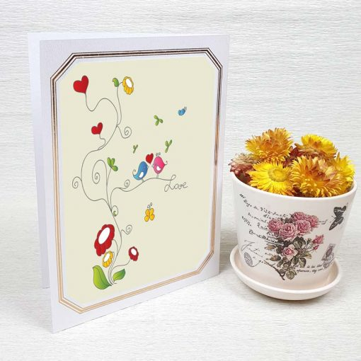 کارت پستال عاشقانه کد 3582 لوکس