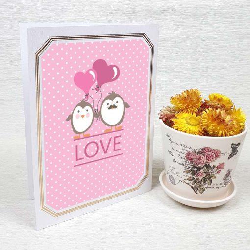 کارت پستال عاشقانه کد 3577 لوکس