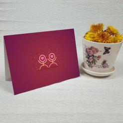 کارت پستال عاشقانه کد 3013 کلاسیک