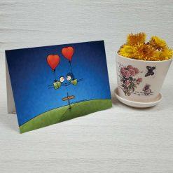 کارت پستال عاشقانه کد 3014 کلاسیک