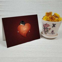 کارت پستال عاشقانه کد 3016 کلاسیک