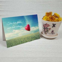 کارت پستال عاشقانه کد 3017 کلاسیک