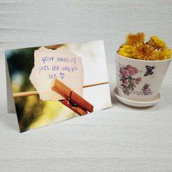 کارت پستال عاشقانه کد 3018 کلاسیک